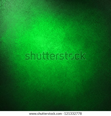 abstract green background or green paper, black vintage grunge background texture design, beautiful solid background for graphic art or website template backdrop, Christmas background, old distressed
