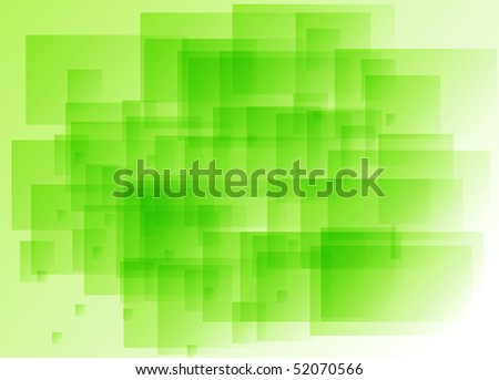 Abstract Green Background With Rectangular Elements Stock ...