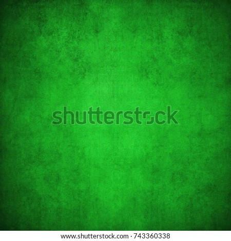 Abstract green block geometric background