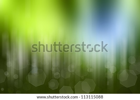 Abstract green color space background