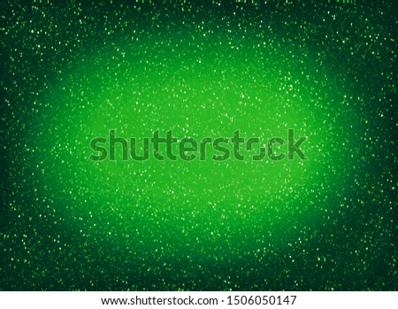 Abstract green decorative background. Decorative frame.
