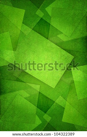 abstract Green Grass - stock photo