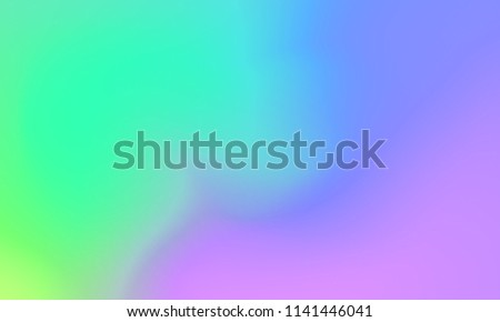 Abstract green pink and purple soft cloud background in pastel colorful gradation.