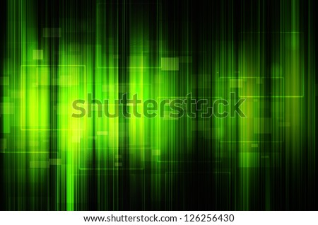 abstract green tech background
