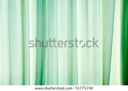 Abstract green texture of drapery and linens.