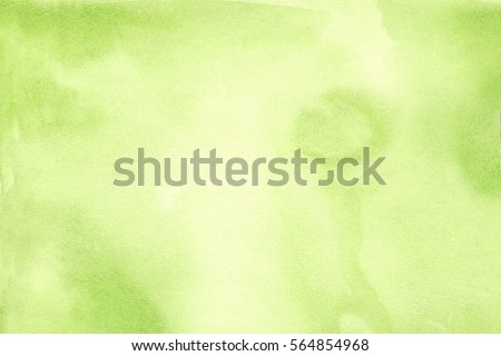 Abstract green watercolor background in high resolution
