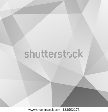 Abstract  Grey Geometric Background. Raster Illustration