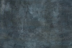 Abstract grunge art decorative design gray blue dark stucco concrete background unique wall texture