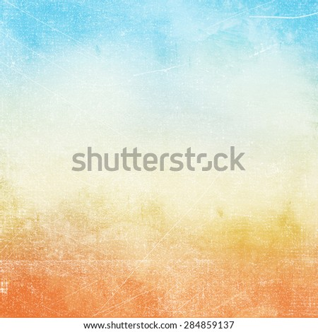 Abstract grunge background in blue being color.