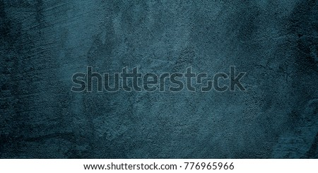 Abstract grunge dark Background. Stucco Wall Texture. Handmade Rough Background  With Copy Space. Wide Screen Abstract Horizontal Wallpaper
