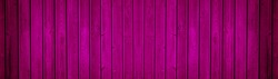 Abstract grunge old pink magenta painted colored colorful wooden boards texture - wood background banner panorama long