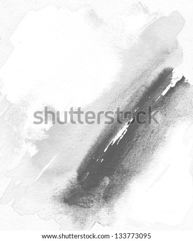 abstract grunge painting - stock photo