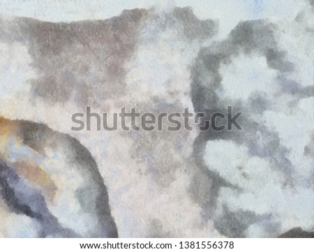 Abstract grunge texture background. Stock abstraction art on canvas. Realistic digital painting. Amazing simple design pattern for backdrop. Beauty HD wallpaper. Dry oil brushstrokes on canvas.