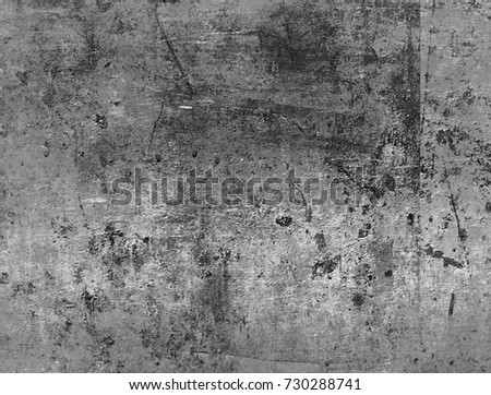 Abstract grunge wallpaper texture background, Black and white #730288741
