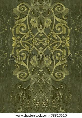 abstract grungy decor closeup