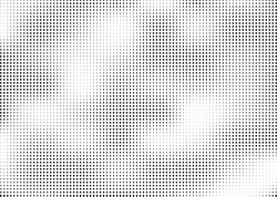 Abstract halftone dotted background. Monochrome pattern with dot and circles.  Vector modern pop art texture for posters, sites, business cards, cover postcards, interior design, labels, stickers.