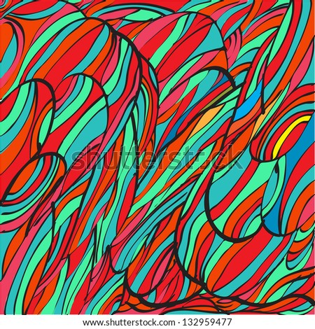 Abstract hand drawn color background. For your business presentation.