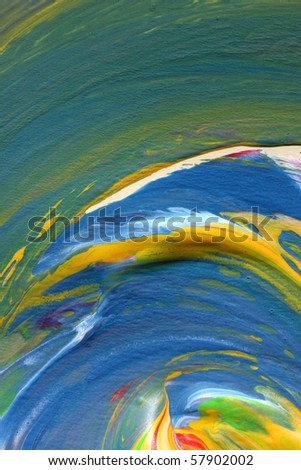 Abstract hand painted art for background