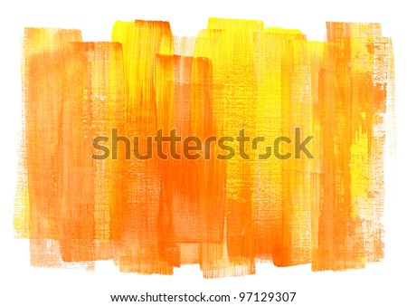Abstract hand painted watercolor background.