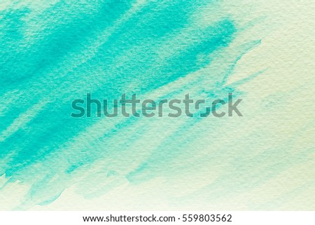 Abstract Hand painted Watercolor Colorful wet background on paper. Watercolor texture for creative wallpaper or design art work. Pastel colors