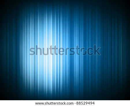 Abstract high tech blue light effect background