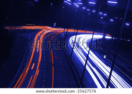 abstract highway