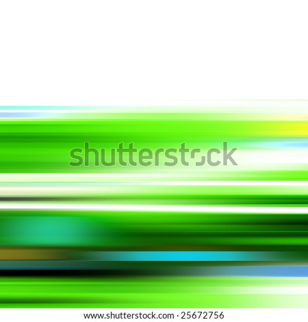 Abstract illustration of a high speed motion
