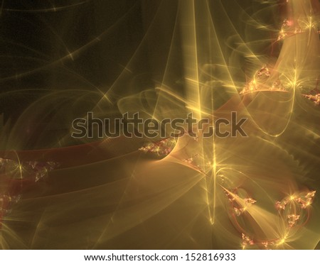 Abstract illustration of fractal with high detail