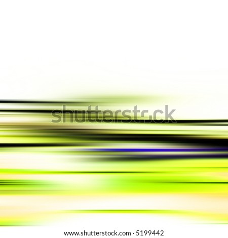 Abstract illustration of high speed motion - stock photo