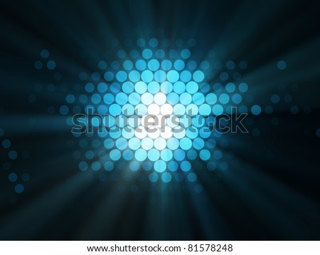 Abstract Illustration of Lights Effects