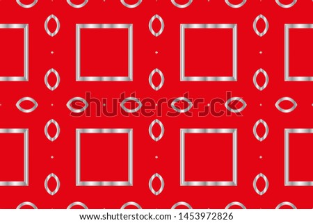 Abstract illustration retro geometric pattern mosaic wallpaper formats background, texture, theme, fabric, art workload versing design #1453972826
