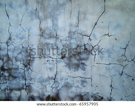 Abstract image of a wall plastered wet cement