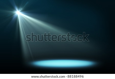 Abstract image of concert lighting