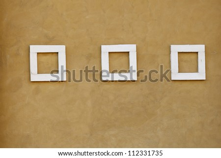 abstract image of cubes background in yellow toned