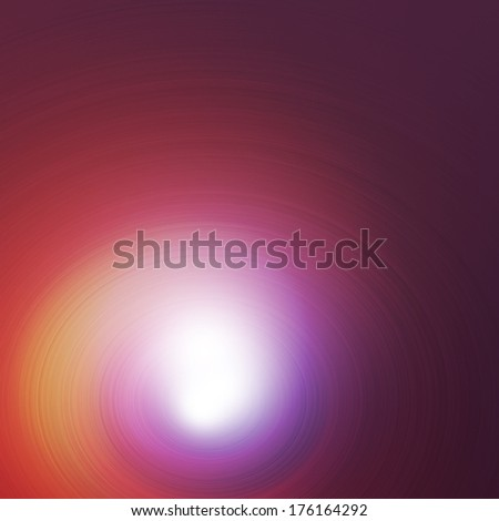 Abstract image of light in tunnel at twilight.