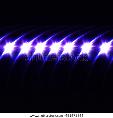 Abstract image of lighting flare #481675366