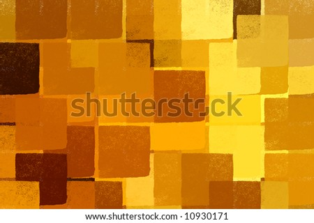 Abstract impressionist squares illustration. Brush paint background pattern.