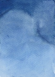 Abstract Indigo Watercolor Texture Background