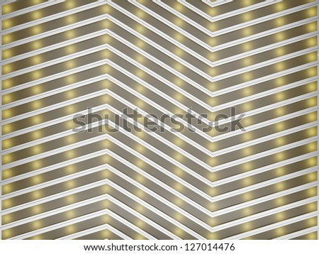 Abstract industrial brushed metal with frosted glass background. Futuristic metallic creative pattern