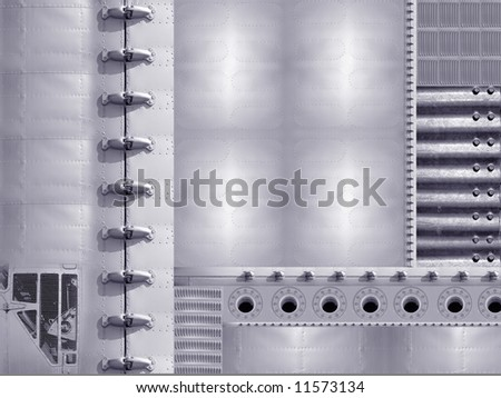 Abstract industrial concept background
