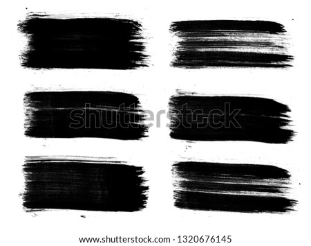 Abstract ink design. Emotional art #1320676145