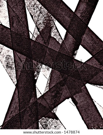 Abstract Ink Print