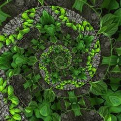 Abstract kaleidoscope background. Beautiful color kaleidoscope texture. Unique kaleidoscope design.