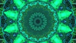 Abstract kaleidoscope background. Beautiful kaleidoscope pattern. Multicolor mosaic texture. Unique kaleidoscope design.