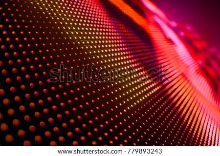 Abstract LED Panel art  #779893243