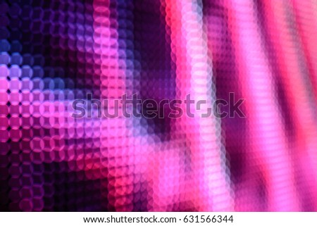 Abstract Led wall background  #631566344