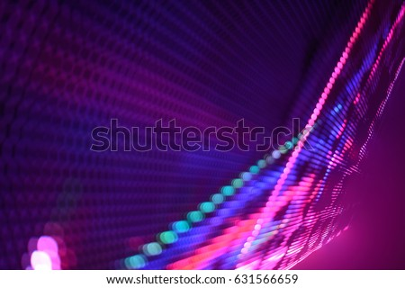 Abstract Led wall background  #631566659