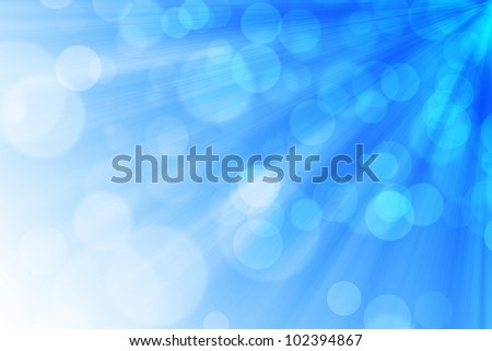 Abstract light background with bokeh pattern