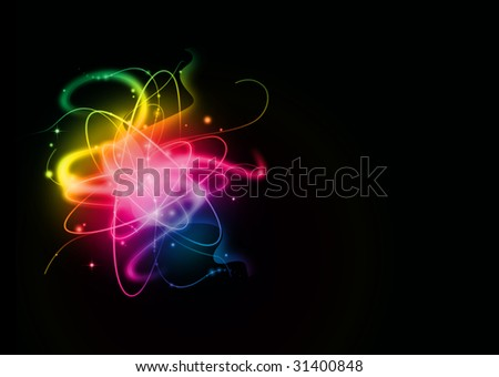abstract light background with place for text
