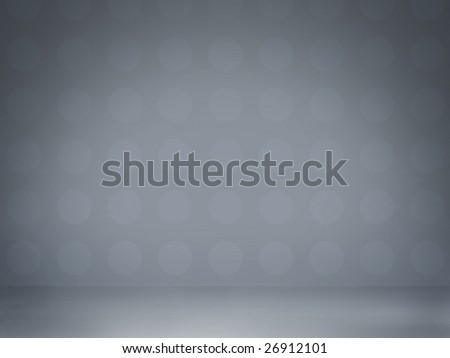 Abstract light blue studio interior, perfect glamour background